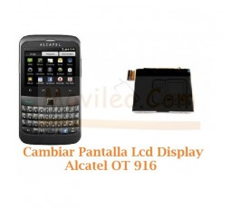 Cambiar Pantalla Lcd Alcatel OT-916 OT916 - Imagen 1