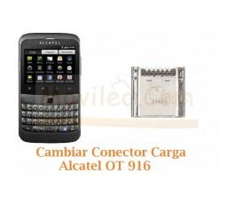 Cambiar Conector Carga Alcatel OT-916 OT916 - Imagen 1