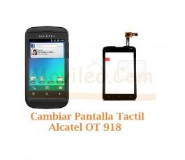 Cambiar Pantalla Tactil para Alcatel OT-918 OT918 - Imagen 1