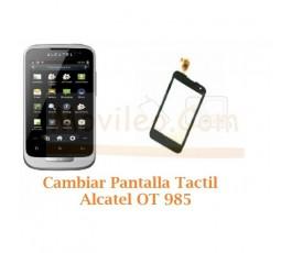 Cambiar Pantalla Tactil Alcatel OT985 OT-985 - Imagen 1