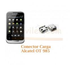 Cambiar Conector Carga Alcatel OT985 OT-985 - Imagen 1
