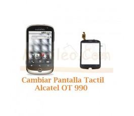 Cambiar Pantalla Tactil Alcatel OT990 OT-990 - Imagen 1