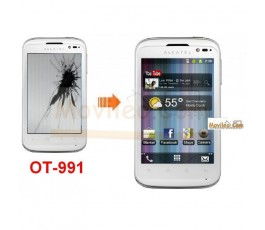 Cambiar Pantalla LCD (display) Alcatel One Touch 991 - Imagen 1