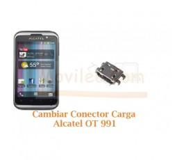 Cambiar Conector Carga Alcatel OT991 OT-991 - Imagen 1