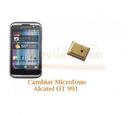 Cambiar Microfono Alcatel OT991 OT-991 - Imagen 1