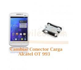 Cambiar Conector Carga Alcatel OT993 OT-993 - Imagen 1