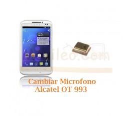 Cambiar Microfono Alcatel OT993 OT-993 - Imagen 1