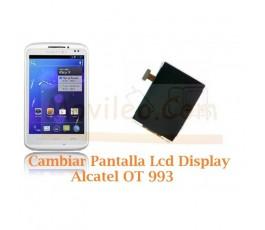 Cambiar Pantalla Lcd Alcatel OT993 OT-993 - Imagen 1