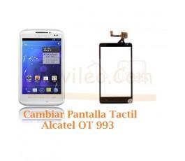 Cambiar Pantalla Tactil Alcatel OT993 OT-993 - Imagen 1
