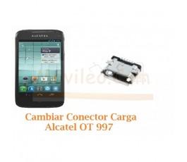 Cambiar Conector Carga Alcatel OT-997 - Imagen 1