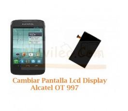 Cambiar Pantalla Lcd Alcatel OT997 OT-997 - Imagen 1