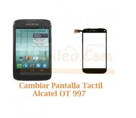 Cambiar Pantalla Tactil Alcatel OT997 OT-997 - Imagen 1