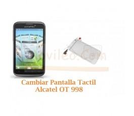 Cambiar Pantalla Tactil Alcatel OT998 OT-998 - Imagen 1