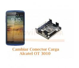 Cambiar Conector Carga Alcatel OT3010 OT-3010 - Imagen 1
