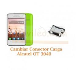 Cambiar Conector Carga Alcatel OT3040 OT-3040 - Imagen 1