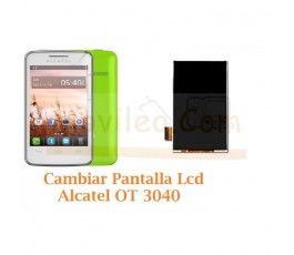 Cambiar Pantalla Lcd Alcatel OT3040 OT-3040 - Imagen 1