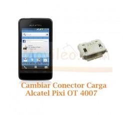 Cambiar Conector Carga Alcatel Pixi OT4007 OT-4007 - Imagen 1