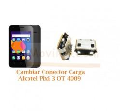 Cambiar Conector Carga Alcatel Pixi 3 OT4009 OT-4009 - Imagen 1