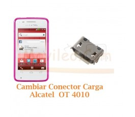Cambiar Conector Carga Alcatel OT4010 OT-4010 - Imagen 1