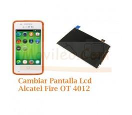 Cambiar Pantalla Lcd Alcatel Fire OT4012 OT-4012 - Imagen 1
