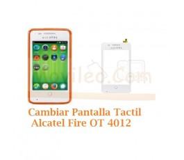 Cambiar Pantalla Tactil Alcatel Fire OT4012 OT-4012 - Imagen 1