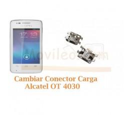 Cambiar Conector Carga Alcatel S´POP OT4030 OT-4030 - Imagen 1