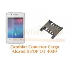 Cambiar Lector Sim Alcatel S´POP OT4030 OT-4030 - Imagen 1