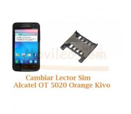Cambiar Lector Sim Alcatel OT5020 OT-5020 Orange Kivo - Imagen 1