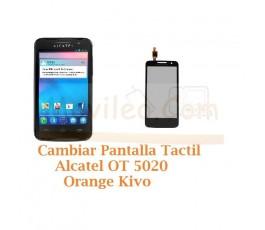 Cambiar Pantalla Tactil Alcatel OT5020 OT-5020 Orange Kivo - Imagen 1