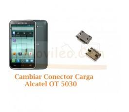 Cambiar Conector Carga Alcatel OT5030 OT-5030 - Imagen 1