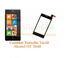 Cambiar Pantalla Tactil Alcatel OT5040 OT-5040 - Imagen 1