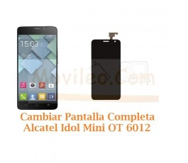 Cambiar Pantalla Completa Alcatel Idol Mini 2 OT-6012 Orange Hiro - Imagen 1