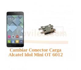 Cambiar Conector Carga Alcatel Idol Mini 2 OT-6012 Orange Hiro - Imagen 1