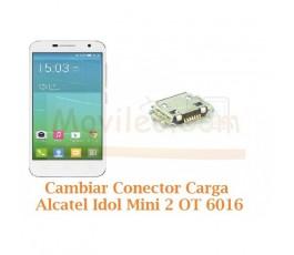 Cambiar Conector Carga Alcatel Idol Mini 2 OT6016 OT-6016 - Imagen 1