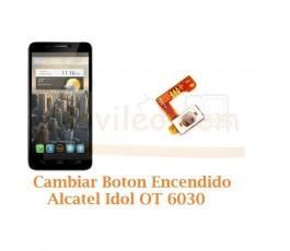 Cambiar Boton Encendido Alcatel Idol OT6030 OT-6030 - Imagen 1