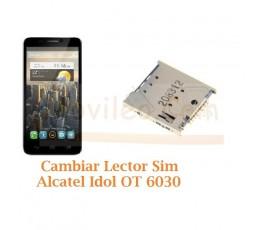 Cambiar Lector Sim Alcatel Idol OT6030 OT-6030 - Imagen 1