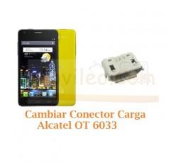Cambiar Conector Carga Alcatel Idol Ultra OT6033 OT-6033 - Imagen 1