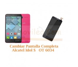 Cambiar Pantalla Completa Alcatel Idol S  OT6034 OT-6034 - Imagen 1