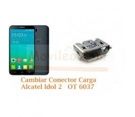 Cambiar Conector Carga Alcatel Idol 2 OT6037 OT-6037 - Imagen 1