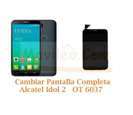 Cambiar Pantalla Completa Alcatel Idol 2 OT6037 OT-6037 - Imagen 1