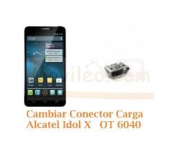 Cambiar Conector Carga Alcatel Idol X OT6040 OT-6040 - Imagen 1