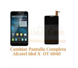 Cambiar Pantalla Completa Alcatel Idol X OT6040 OT-6040 - Imagen 1