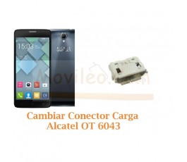 Cambiar Conector Carga Alcatel Idol X+ OT6043 OT-6043 - Imagen 1