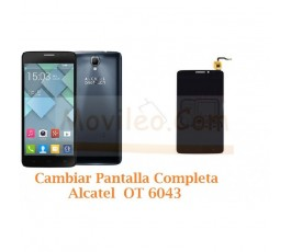 Cambiar Pantalla Completa Alcatel Idol X+ OT6043 OT-6043 - Imagen 1
