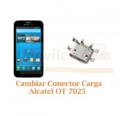 Cambiar Conector Carga Alcatel OT7025 OT-7025 - Imagen 1