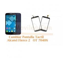 Cambiar Pantalla Tactil Alcatel Fierce 2 OT7040N OT-7040N - Imagen 1