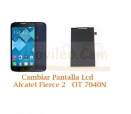 Cambiar Pantalla Lcd Alcatel Fierce 2 OT7040N OT-7040N - Imagen 1