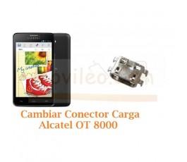 Cambiar Conector Carga Alcatel OT8000 OT-8000 - Imagen 1