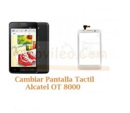 Cambiar Pantalla Tactil Alcatel OT8000 OT-8000 - Imagen 1