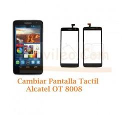 Cambiar Pantalla Tactil Alcatel OT8008 OT-8008 - Imagen 1